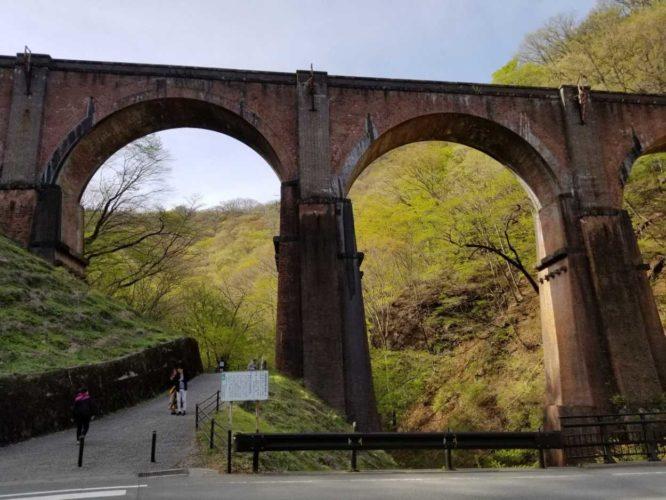 碓氷第三橋梁(めがね橋)を観光