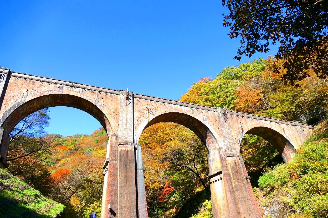めがね橋の周辺の観光・紅葉