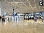 空港の入国