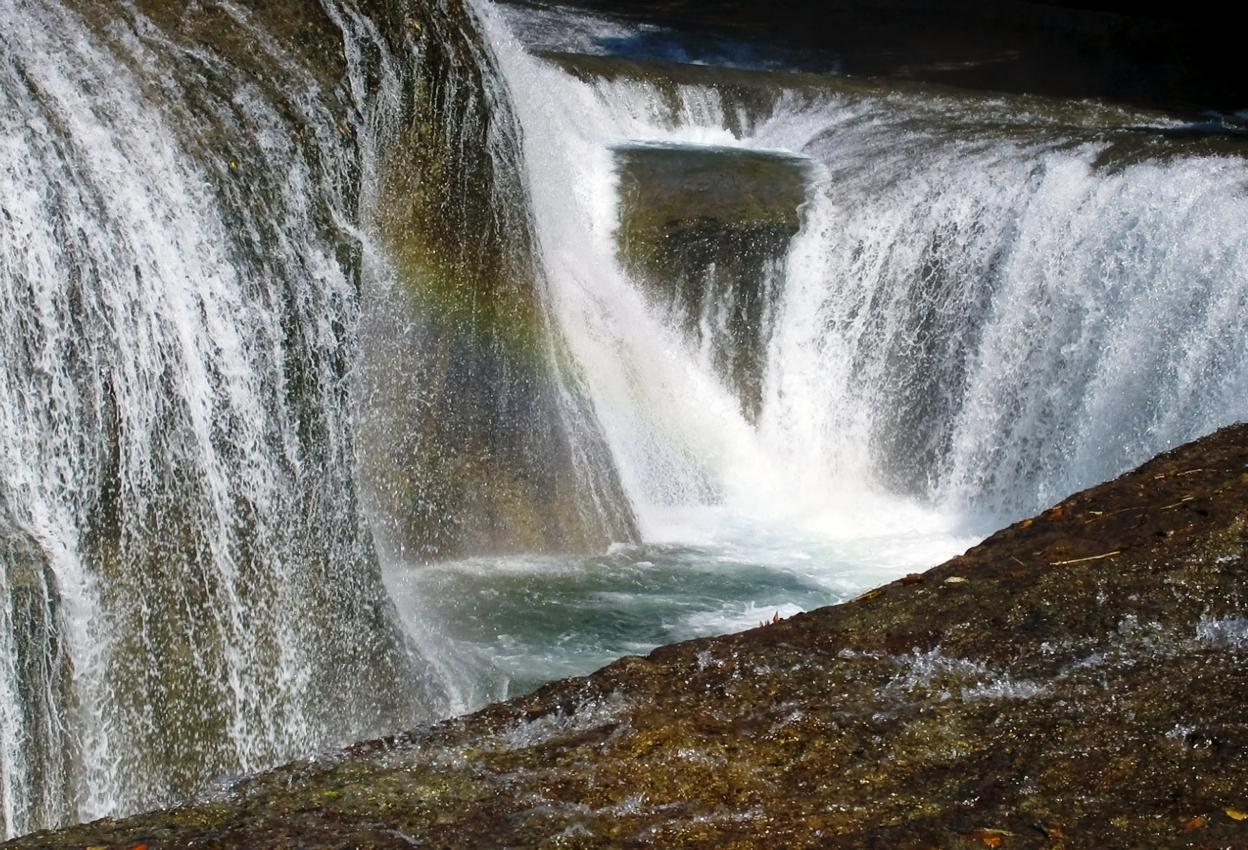 吹割の滝の写真