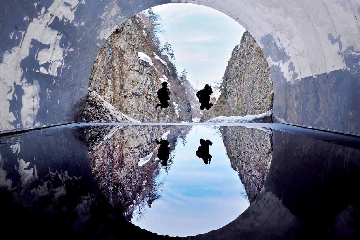 清津峡トンネルの絶景