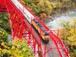 黒部峡谷をトロッコ電車で、富山の誇る大自然でリフレッシュ旅