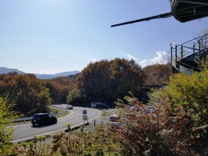 旅立ちの丘 展望台に一番近い駐車場