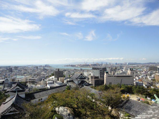 徳川ゆかりの和歌山城の城下町