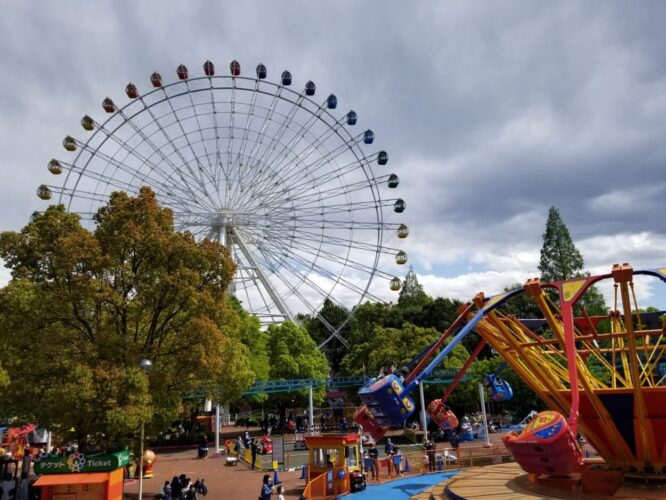 もりのゆうえんち 野田市イオンに隣接で子連れに嬉しい遊園地